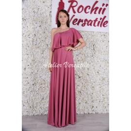 Rochie Eliza - Roz Prafuit Inchis