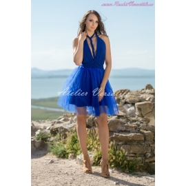 Rochie Versatila Tulle Albastru