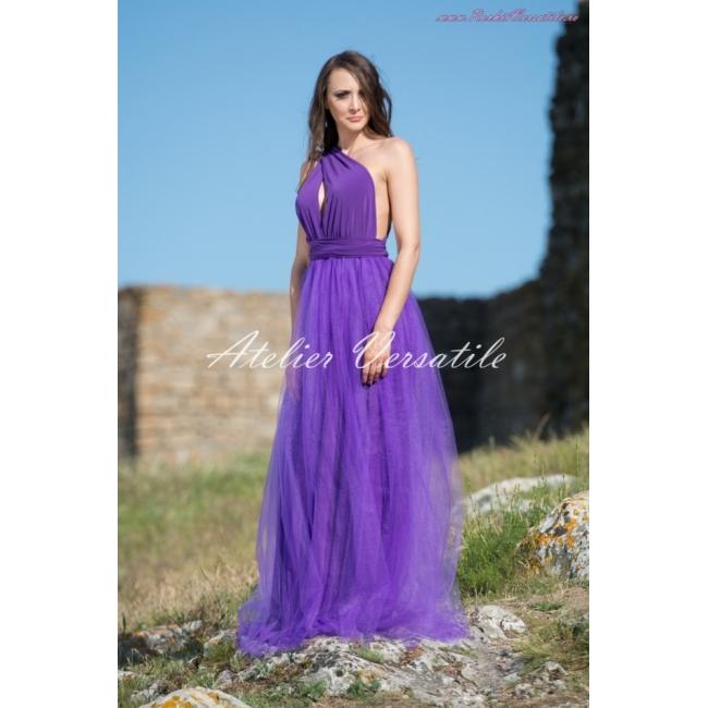 Rochie Versatila Tulle Ultra Violet