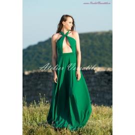 Rochie Versatila Verde Smarald