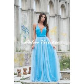 Rochie Versatila Tulle Blue