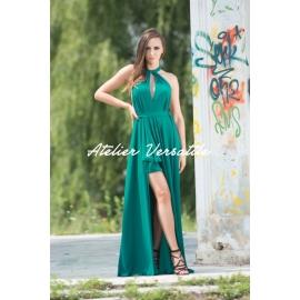 Rochie Versatila Glossy - Verde