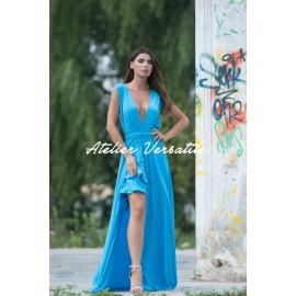Rochie Versatila Glossy - Blue